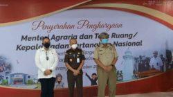 BPN RI memberikan apresiasi kepada Satgas Mafia Tanah Polda Banten