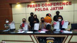 Ditreskrimum Polda Jatim membongkar kasus tindak pidana penipuan selesi penerimaan taruna akpol
